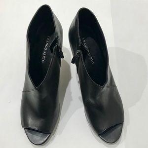 New Franco Sarto peep toe boots - Size 12